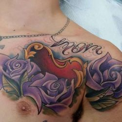 фотография татуировка сердце