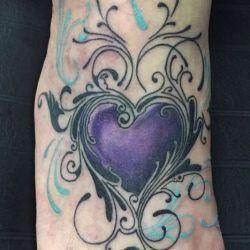 Татуировка сердце фото