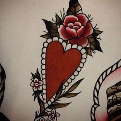 татуировка сердце фото, эскиз