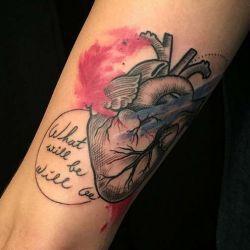 Татуировка сердце фотография