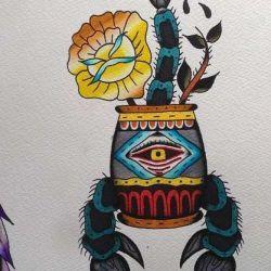 татуировка скорпион фото, эскиз