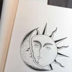 фото, эскиз солнце