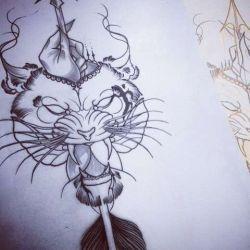 Татуировка тигр эскиз