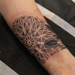 Татуировка узор фотография