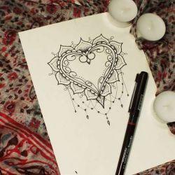 фото, эскиз татуировка узор