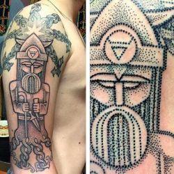 татуировка воин фото