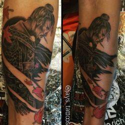 татуировка воин фотография