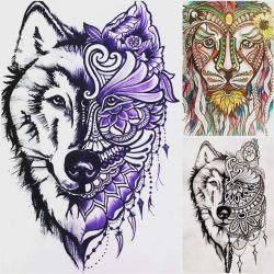 волк эскиз