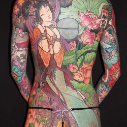 татуировка якудза фотография
