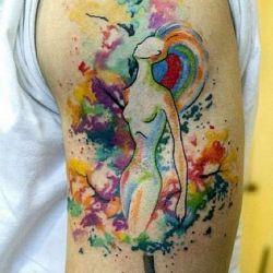 фото татуировки абстракции