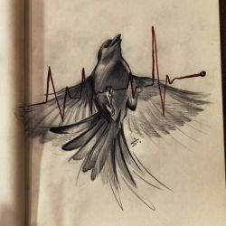 Татуировки абстракции эскиз