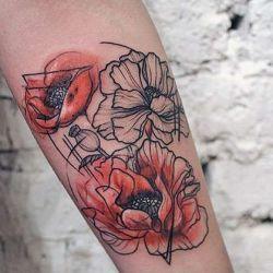 татуировки абстракции фото