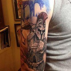 Татуировки гладиаторов фотография