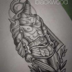 Татуировки гладиаторов эскиз