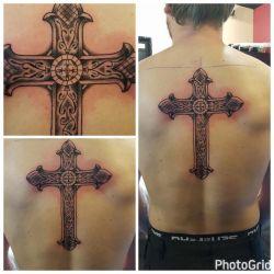 кельтский крест фотография