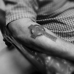 татуировки кельтский крест фото