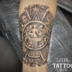 Татуировки майя фото