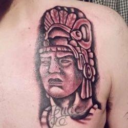 фотография тату майя