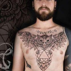 Татуировки на груди фото