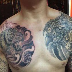 фото татуировки на груди