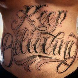 Татуировки на животе фото