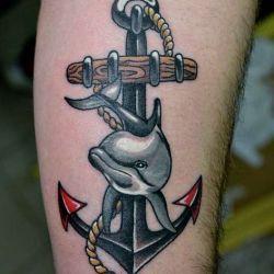 фотография татуировки old school