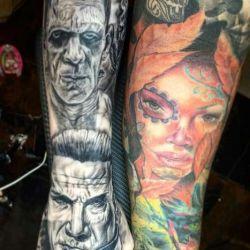 татуировки рукава фотография