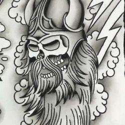 татуировки викингов эскиз