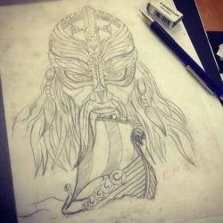 викингов эскиз