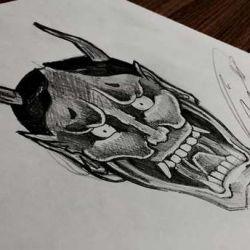 японские татуировки фото, эскиз