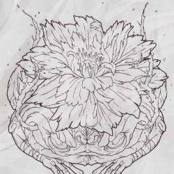 фото, эскиз японские татуировки