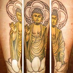 Буддийские татуировки: значение сакральных символов