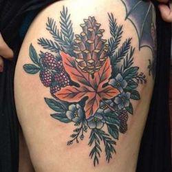 Выделиться из толпы помогут оригинальные татуировки, приведенные в статье