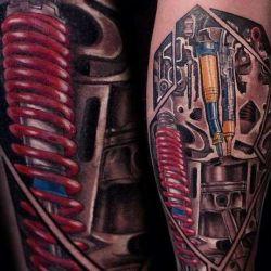 Татуировка биомеханика: поклонники прогресса, решившие стать его частью