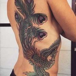 Татуировка феникс: история и значение символа