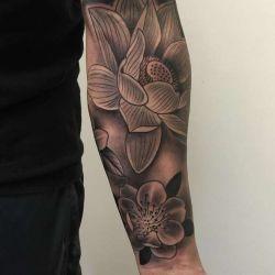 История, значение, фото и эскизы татуировки лотос