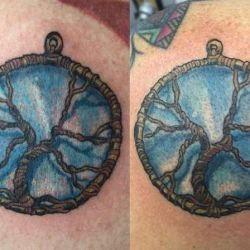 Татуировка оберег: от чего должно оберегать изображение на теле