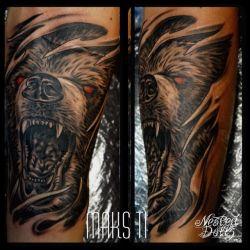 Татуировка оскал