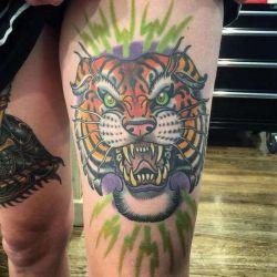 Какой должна быть татуировка тигр? Эскизы и фотографии