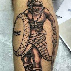 Изображение воинов на теле: фото, эскизы и значение татуировки