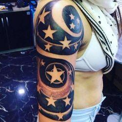 Кому подойдет татуировка звезда? Значение, фото, скизы и символика