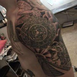 Татуировки майя: история происхождения, значения изображений