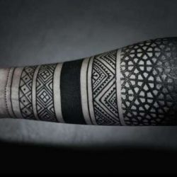 Этнические татуировки: экзотика на коже