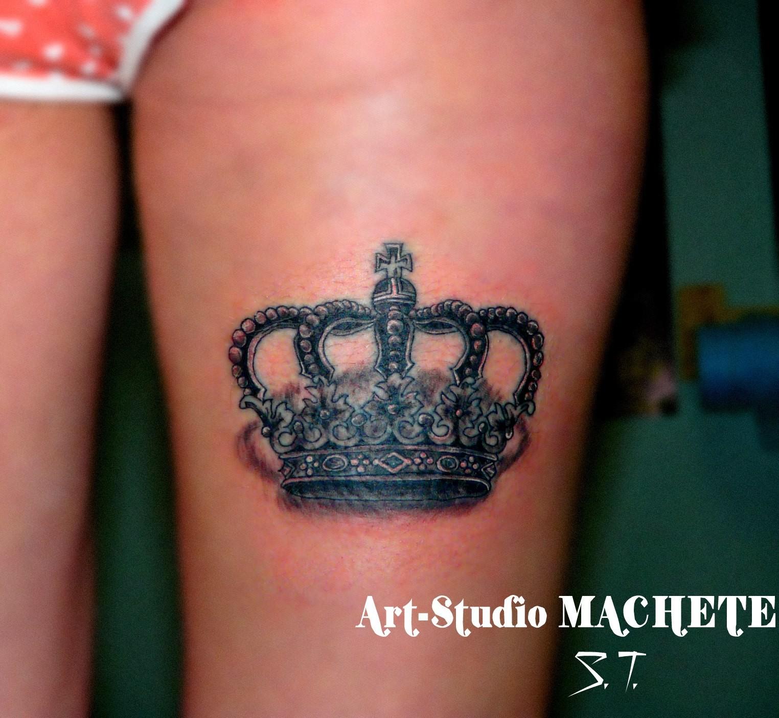 Татуировки с коронами - Фото татуировок - Татуировки 77