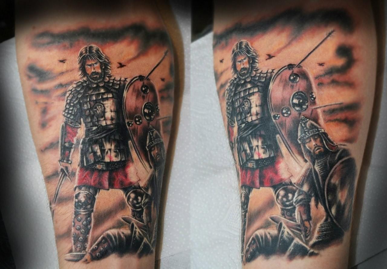 Татуировки с русскими воинами фото