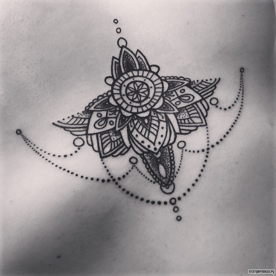 Как называются татуировки узорами