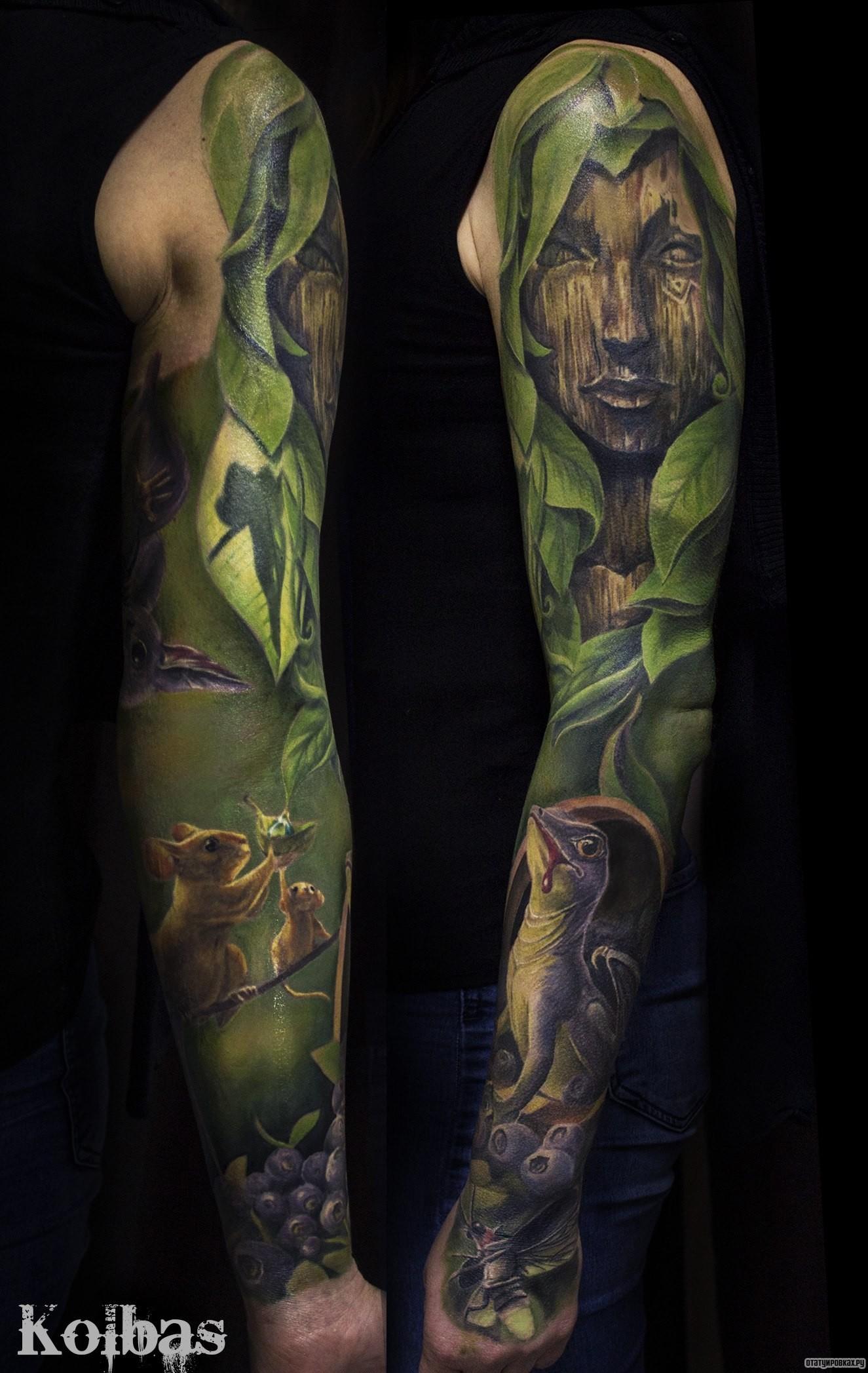Для мужчин - Тату эскизы Галерея идей для татуировок Фото эскизов 5