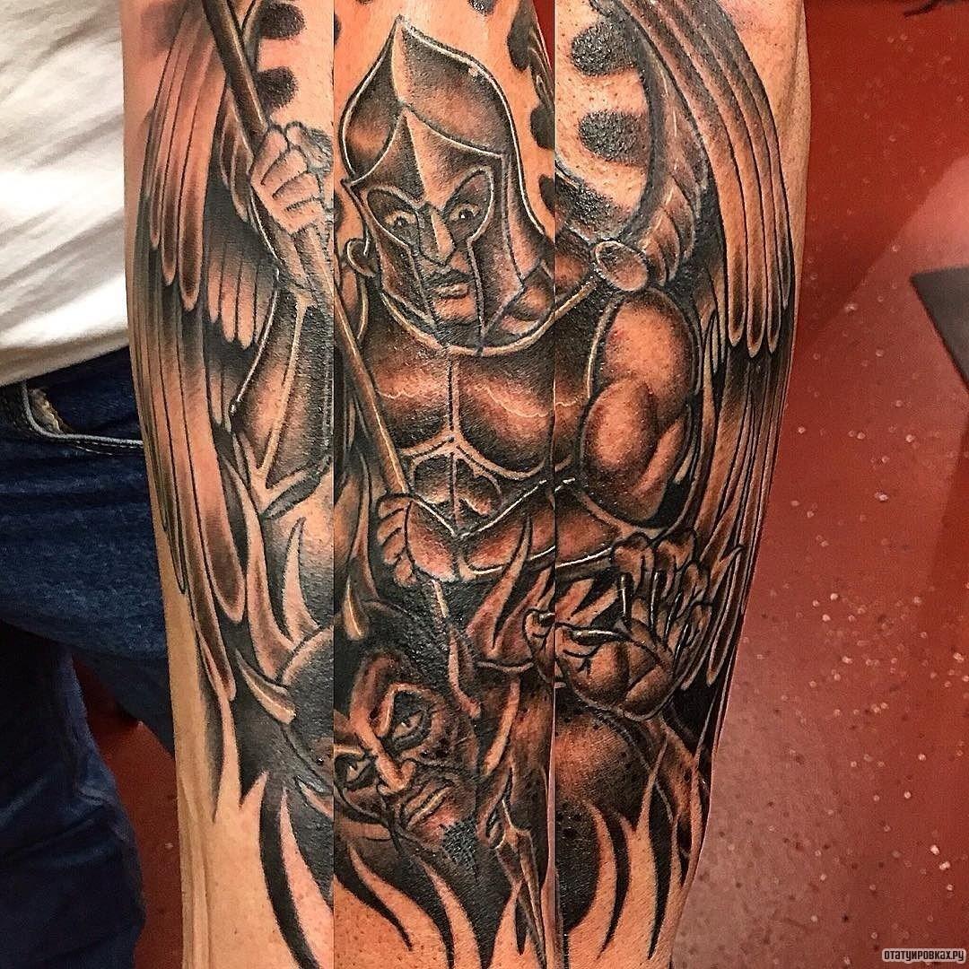 бок, архангел тату фото картинки формируют